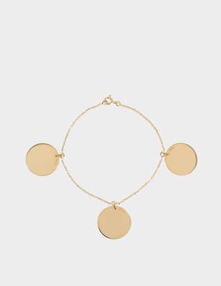 Aurelie Bidermann Fine jewellery - 18K 3 Medals bracelet