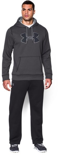 Men's UA Storm Armour® Fleece Big Logo Hoodie