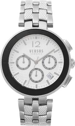 Versace VERSUS  Logo Chronograph Bracelet Watch, 44mm
