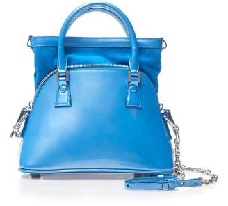 Maison Margiela 5AC Shiny Leather Top Handle Bag