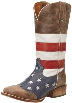 Roper Men's American Flag Square Toe Boot