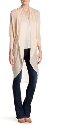 Eileen Fisher Long Dolman Sleeve Cardigan $248 thestylecure.com