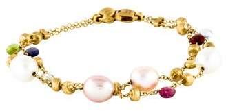 Marco Bicego 18K Pearl & Multistone Paradise Bracelet