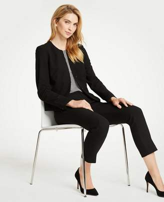 Ann Taylor Seasonless Stretch Two Button Jacket