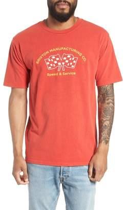 Brixton Burnout Graphic T-Shirt