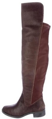 André Assous Suede Over-The-Knee Boots $95 thestylecure.com