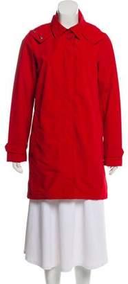 Hunter Hooded Water-Repellent Coat