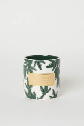 H&M Large Scented Candle - Green