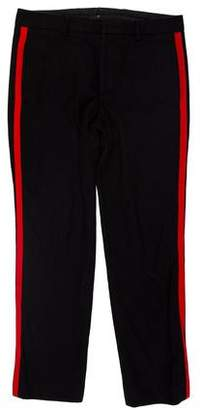 Givenchy Wool Flat Front Pants