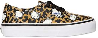 Vans Hello Kitty Print Cotton Canvas Sneakers