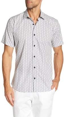 Jared Lang Monopoly Print Short Sleeve Shirt
