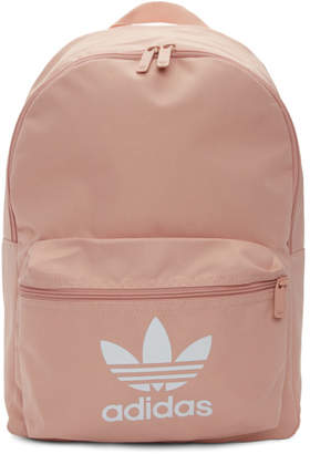 d364f2be11 adidas Pink Adicolor Classic Trefoil Backpack