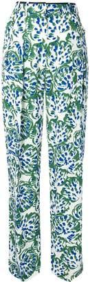 Victoria Victoria Beckham floral pyjama trousers