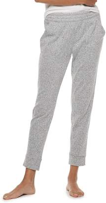 Sonoma Goods For Life Women's SONOMA Goods for Life Split Cuff Fleece Jogger Pajama Pants