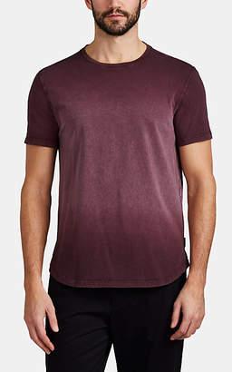 John Varvatos Men's Washed Cotton T-Shirt - Red