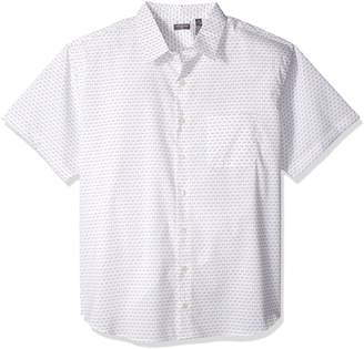 Van Heusen Men's Size Big Flex Stretch Short Sleeve Non Iron Shirt