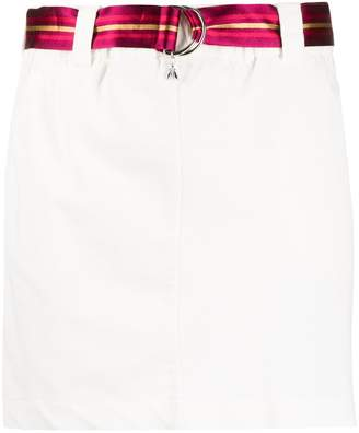 Patrizia Pepe belted mini skirt