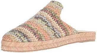 Kaanas Women's Sacramento Woven Espadrille Slide Mule Shoe Wedge Sandal