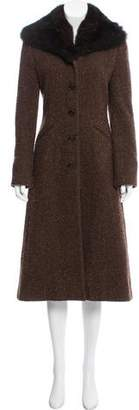 Ralph Lauren Black Label Wool Tweed Coat