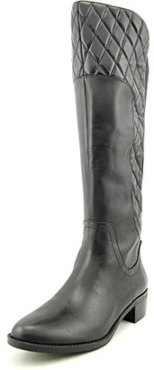 Adrienne Vittadini Footwear Women's Keith Quilted Leather Mid-Calf Boot $38.81 thestylecure.com