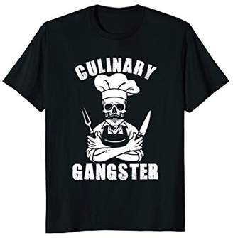 Culinary Gangster Cool Cooking Guru T-Shirt