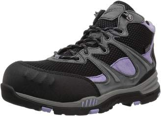 """Danner Women's Springfield 4.5"""" NMT W's Construction Boot, Gray/Lavender"""