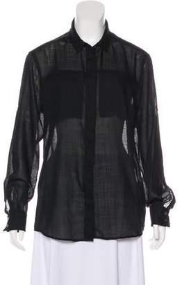 IRO Darcy Wool Button-Up