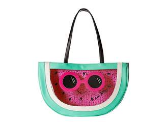 Luv Betsey Nels PVC Kitch Fruit Tote Tote Handbags