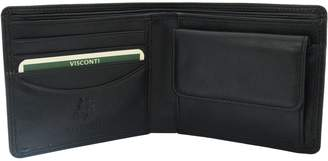 Visconti Heritage-7 Bifold Mens Soft Thin Leather Wallet Gift