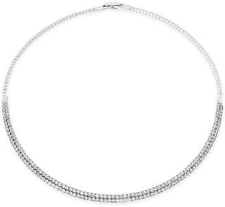 "INC International Concepts I.n.c. 16"" Crystal Collar Necklace"
