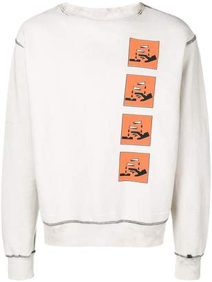 United Standard graphic print sweatshirt