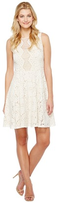 Christin Michaels - Harriet Sleeveless Lace Dress Women's Dress $98 thestylecure.com