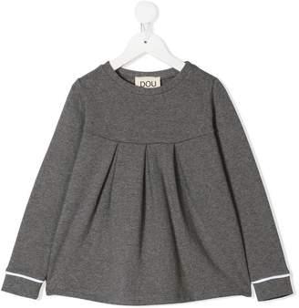 Douuod Kids pleated tunic top