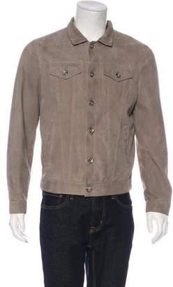 Brunello Cucinelli Leather Field Jacket