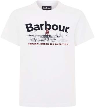 Barbour Waterline Chest Logo T-Shirt