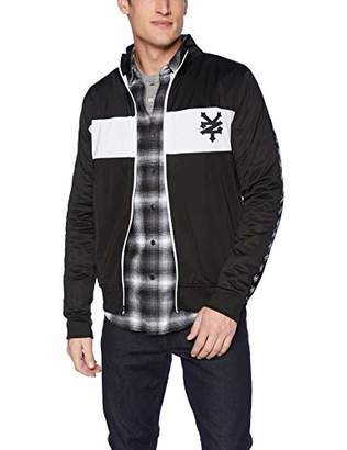 Zoo York Men's Jacquard Taped Zipper Jacket