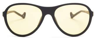 District Vision - Kaishiro Aviator Performance Sunglasses - Mens - Black Multi