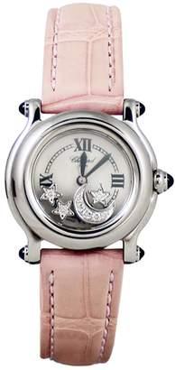 Chopard Steel Watch Happy Sport Diamants