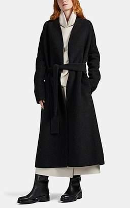 The Row Women's Luisa Double-Faced Wool-Blend Felt Coat - Dark Gray