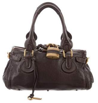 Pre Owned At Therealreal Chloé Leather Paddington Bag