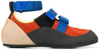 Marni cross strap sneakers