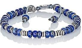 M. Cohen Men's Beaded Bracelet-Blue