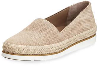 Donald J Pliner Palm Perf Suede Slip-On Sneakers