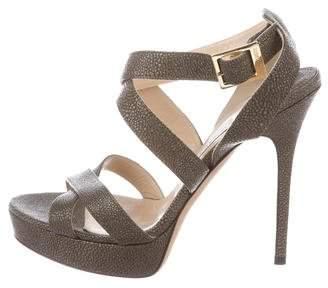 Jimmy Choo Stingray Platform Sandals