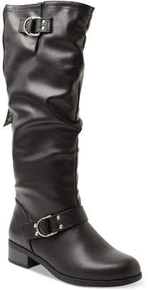 XOXO Minkler Riding Boots Women's Shoes