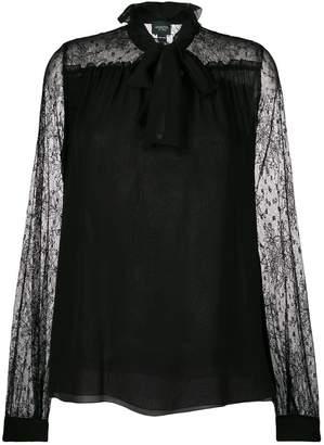 Giambattista Valli sheer lace blouse