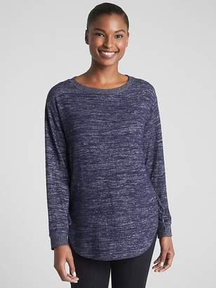 Gap Softspun Long Sleeve Lace-Up Tunic