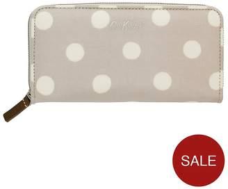 Cath Kidston Button Spot Fawn Continental Zip Wallet