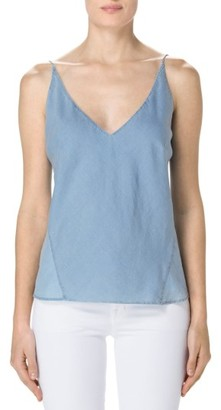 Women's J Brand Lucy Chambray Camisole $128 thestylecure.com
