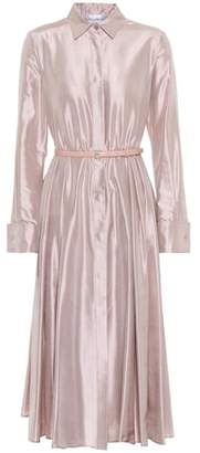 Max Mara Fiorire silk satin dress